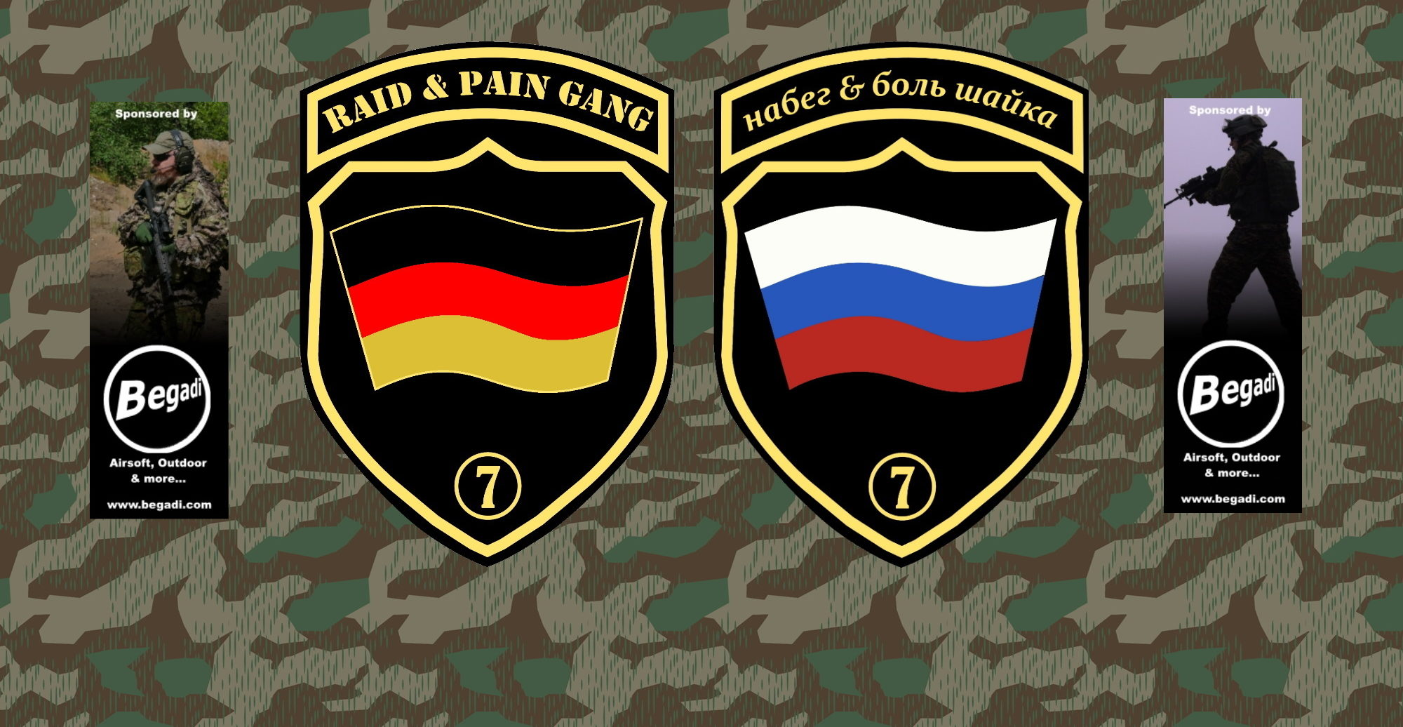 7.Abteilung der Raid'n'Pain-Gang